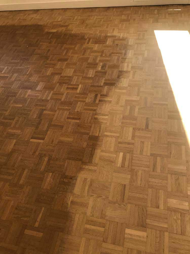 renovation parquet amazing worker removes old parquet