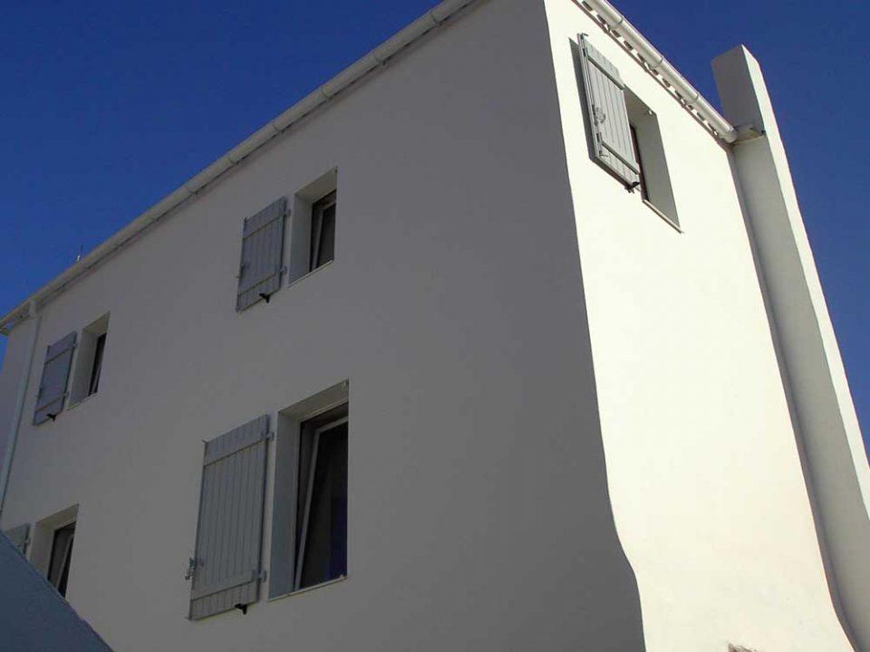 Peindre une faade de maison cheap prix peinture faade for Quelle peinture pour facade